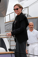 Eva Cavalli aboard Roberto Cavalli's yacht during the 66th Cannes Film Festival - Cannes
