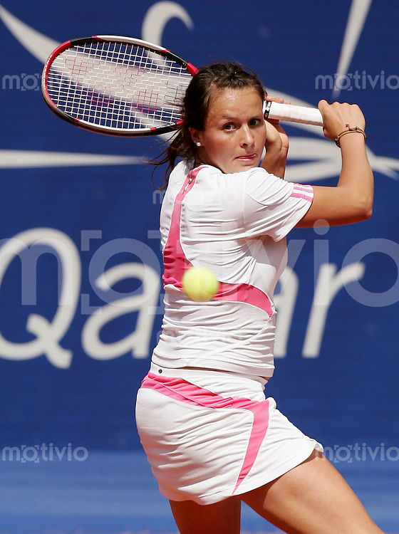 Tennis WTA German Open Tatjana MALEK (GER), Rueckhand.