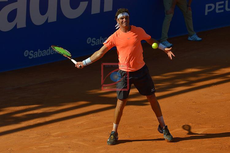 65e Trofeu Conde de Godo.<br /> Barcelona Open Banc Sabadell.<br /> Marcel Granollers (ESP) vs Malek Jaziri (TUN): 7-6, 6-3.
