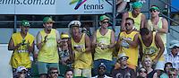 AMBIENCE<br /> <br /> Tennis - Australian Open - Grand Slam -  Melbourne Park -  2014 -  Melbourne - Australia  - 13th January 2014. <br /> <br /> &copy; AMN IMAGES, 1A.12B Victoria Road, Bellevue Hill, NSW 2023, Australia<br /> Tel - +61 433 754 488<br /> <br /> mike@tennisphotonet.com<br /> www.amnimages.com<br /> <br /> International Tennis Photo Agency - AMN Images