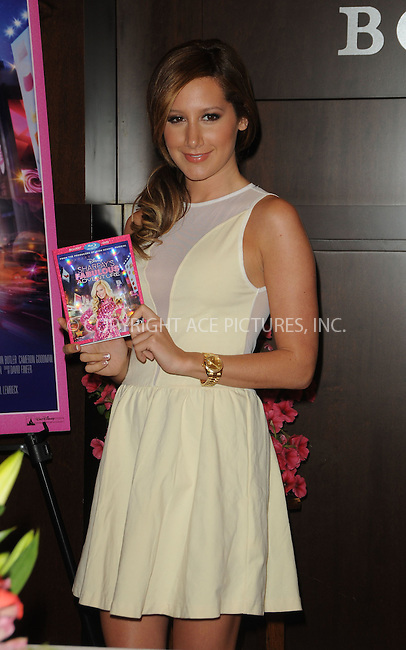 WWW.ACEPIXS.COM . . . . . ....April 19 2011, Los Angesles....Actress Ashley Tisdale siged copies of the DVD 'Sharpay's Fabulous Adventure!' at Barnes & Noble at The Grove on April 19, 2011 in Los Angeles, CA....Please byline: PETER WEST - ACEPIXS.COM....Ace Pictures, Inc:  ..(212) 243-8787 or (646) 679 0430..e-mail: picturedesk@acepixs.com..web: http://www.acepixs.com