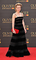 Gillian Anderson at the Olivier Awards 2019, Royal Albert Hall, Kensington Gore, London, England, UK, on Sunday 07th April 2019.<br /> CAP/CAN<br /> ©CAN/Capital Pictures