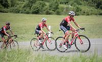 Alberto Contador (ESP/Trek-Segafredo)<br /> <br /> Stage 6: Le parc des oiseaux/Villars-Les-Dombes &rsaquo; La Motte-Servolex (147km)<br /> 69th Crit&eacute;rium du Dauphin&eacute; 2017