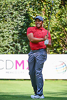 Jhonattan Vegas (VEN) watches his tee shot on 3 during round 1 of the World Golf Championships, Mexico, Club De Golf Chapultepec, Mexico City, Mexico. 3/2/2017.<br /> Picture: Golffile | Ken Murray<br /> <br /> <br /> All photo usage must carry mandatory copyright credit (&copy; Golffile | Ken Murray)