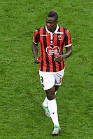 Mario Balotelli - Nice vs PSG at the Allianz Riviera in Nice for the soccer Ligue 1 Conforama <br /> 29-09-2018 <br /> Nice vs Paris Saint Germain PSG <br /> Calcio Ligue 1 2018/2019 <br /> Foto Panoramic/insidefoto <br /> ITALY ONLY