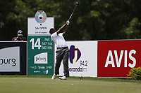 Madalitso Muthiya (RSA) during the 3rd round of the SA Open, Randpark Golf Club, Johannesburg, Gauteng, South Africa. 8/12/18<br /> Picture: Golffile | Tyrone Winfield<br /> <br /> <br /> All photo usage must carry mandatory copyright credit (&copy; Golffile | Tyrone Winfield)