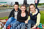 Shannon Leahy (Blennerville) Orla Leahy (Abbeyfeale) and Eliza Kennelly (Listowel) enjoying the Wetlands Music Festival on Saturday last.