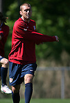 12 May 2006: Jimmy Conrad. The United States' Men's National Team trained at SAS Soccer Park in Cary, NC, in preparation for the 2006 FIFA World Cup tournament to be played in Germany from June 9 through July 9, 2006.