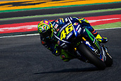 June 10th 2017,  Barcelona Circuit, Montmelo, Catalunya, Spain; MotoGP Grand Prix of Catalunya, qualifying day; Valentino Rossi of Movistar Yamaha Team testing the new chicane of the circuit
