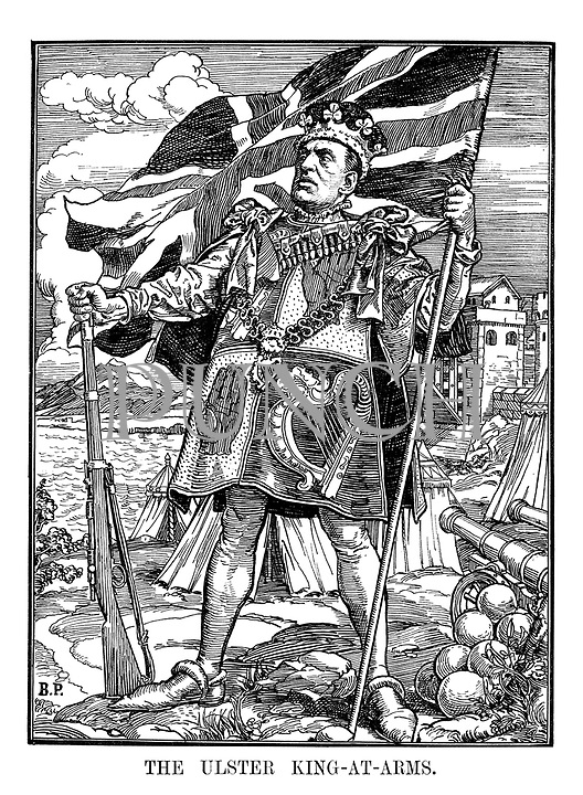 The Ulster King-at-Arms.