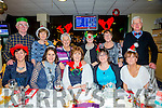 Staff of the Caherciveen Credit Union enjoying their Christmas party on Saturday night at the Kingdom Greyhound Track. Front l-r Sheila Coffey, Mary O'Connor, Collette O'Connor, Elva Shine and Martina McCrohan. Back l-r  Michael Prendergast, Carmel Nolan, Maureen O'Connor, Mary Ann O'Sullivan, Mary O'Shea and Robert Nolan.