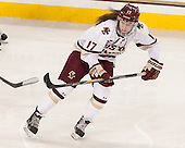 Meghan Grieves (BC - 17) - The Boston College Eagles defeated the visiting UConn Huskies 4-0 on Friday, October 30, 2015, at Kelley Rink in Conte Forum in Chestnut Hill, Massachusetts.