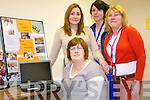 Ballyspillane Family Resource Centre has a range of courses on offer this year to provide necessary support to the local community. .Front centre manager, Connie O'Leary. .Back L-R Norma McKenna (childcare manager), Michelle Moore (family support worker) and Marian McCabe (community development worker).