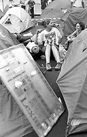 Genova 20 Luglio 2001.G8.Lo stadio Carlini