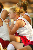 30 August 2005: Simmy Martin during Stanford's 5-1 loss to Delaware at the Varsity Turf Field in Stanford, CA.
