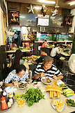 VIETNAM, Saigon, restaurant Pho Hoa aka Pho Hoa Pasteur, a local Vietnamese crowd dines on Pho amidst the wacky, tacky interior, Ho Chi Minh City