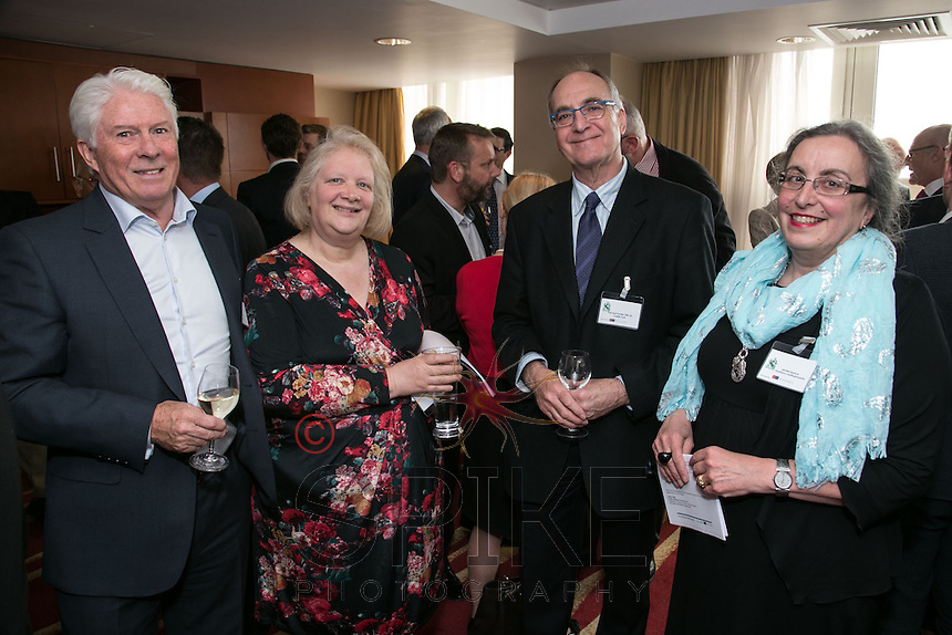 Pictured from left are Peter Moore OBE of Bright Aspect Leisure, Professor Ted Cantle, CBE, DL and Heather Mayfield both of Castle Trust and Jennifer Spencer of Experience Nottinghamshire