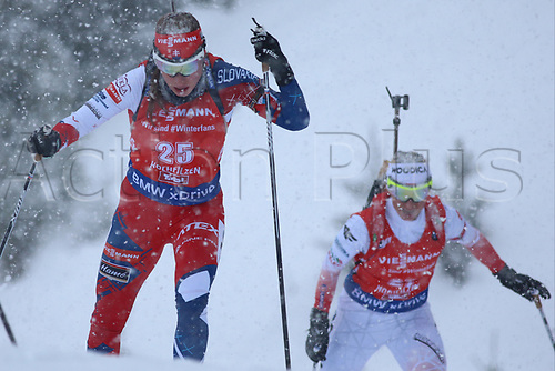 8th December 2017, Biathlon Centre, Hochfilzen, Austria; IBU Womens Biathlon World Cup; Ivona Fialkova (SVK)