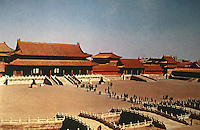 China:  Chinese Architecture--Forbidden City, Beijing.