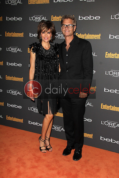 Lisa Rinna, Harry Hamlin<br />