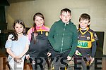 Cara Kirby, Aisling Realm Declan Lacey and Jake Carmody at the Unveils  of The Rock monument to commemorate the  100 year celebrations  outside Austin Stacks GAA club grounds at Connolly Park on Monday evening