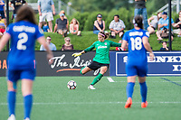 Boston, MA - Saturday July 01, 2017: Stephanie Labbé during a regular season National Women's Soccer League (NWSL) match between the Boston Breakers and the Washington Spirit at Jordan Field.