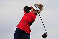 Amalie Leth-Nissen (DEN) on the 8th tee during Round 3 Matchplay of the Women's Amateur Championship at Royal County Down Golf Club in Newcastle Co. Down on Friday 14th June 2019.<br /> Picture:  Thos Caffrey / www.golffile.ie