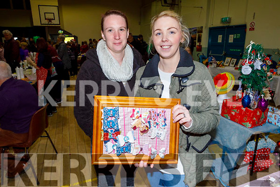 Collette Casey and Caroline Casey at the Arts, Crafts and Food fare at the Ardfert Community Centre on Sunday.