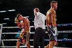 li: Emre Cukur (GER) vs. Davide Faraci (ITA) - Super middleweight ; Boxen: ECB ECBOXING am 09.02.2020 in Goeppingen (EWS Arena), Baden-Wuerttemberg, Deutschland.<br /> <br /> Foto © PIX-Sportfotos *** Foto ist honorarpflichtig! *** Auf Anfrage in hoeherer Qualitaet/Aufloesung. Belegexemplar erbeten. Veroeffentlichung ausschliesslich fuer journalistisch-publizistische Zwecke. For editorial use only.