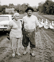 Rural farm couple, Pampas District, Argentina
