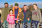 Mike McKenna, Clodagh McKenna Milltown, John Lynch, Mike Corkery Killorglin and Leona McKenna Milltown enjoying the fine day at the Killorglin Horse fair on Saturday