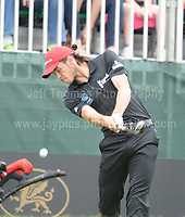 Real Madrid and Wales International footballer Gareth Bale during The 2017 Celebrity Cup golf tournament at the Celtic Manor Resort, Newport, South Wales. 1.07.2017 <br /> <br /> <br /> Jeff Thomas Photography -  www.jaypics.photoshelter.com - <br /> e-mail swansea1001@hotmail.co.uk -<br /> Mob: 07837 386244 -