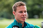 04.01.2019, The Fairway Hotel, Johannesburg, RSA, TL Werder Bremen Johannesburg Tag 02<br /> <br /> im Bild / picture shows <br /> Niklas Moisander (Werder Bremen #18) bei Mixed Zone / Pressetermin während Wintertrainingslager in Südafrika, <br /> <br /> Foto © nordphoto / Ewert