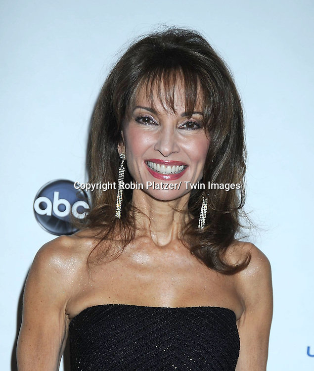 "Susan Lucci posing for photographers at The ABC Daytime Salutes Broadway Cares/ Equity Fights Aids "" An Evening of Musical Entertainment and Comedy""  Benefit after party  on March 13, 2011 at the Marriott Marquis Hotel in New York City."