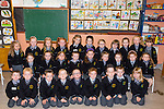 All of Us<br /> -----------<br /> Pictured on their first day at school are children attending Gael Scoil Aogain, Castleisland
