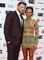 Duncan James and Melanie Brown at the British LGBT Awards at the London Marriott Hotel Grosvenor Square, Grosvenor Square, London on Friday 11 May 2018<br /> CAP/ROS<br /> &copy;ROS/Capital Pictures