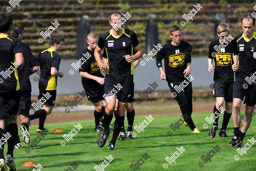 2013-07-06 / Voetbal / seizoen 2013-2014 / Eerste training Berchem Sport / Romeo Van Dessel<br /><br />Foto: Mpics.be