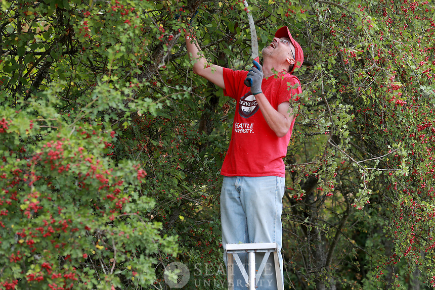 September 8th 2017 - Seattle University Service Day for faculty and staff.