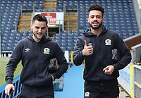 Blackburn Rovers' Derrick Williams and Blackburn Rovers' Craig Conway arrive at the ground<br /> <br /> Photographer Rachel Holborn/CameraSport<br /> <br /> The EFL Sky Bet League One - Blackburn Rovers v Blackpool - Saturday 10th March 2018 - Ewood Park - Blackburn<br /> <br /> World Copyright &copy; 2018 CameraSport. All rights reserved. 43 Linden Ave. Countesthorpe. Leicester. England. LE8 5PG - Tel: +44 (0) 116 277 4147 - admin@camerasport.com - www.camerasport.com