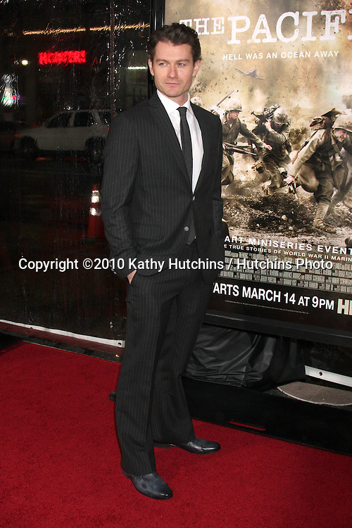 "James Badge Dale.arriving at HBO's ""The Pacific"" Premiere Screening .Mann's Chinese Theater.Los Angeles, CA.February 24, 2010.©2010 Kathy Hutchins / Hutchins Photo...."