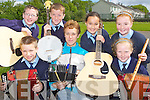 w NS pupils practice with their music teacher for the BIG SESSION which will be held in Scartaglen NS on Sunday front row l-r: Padraig Broderick, Reidin Schlesinger, Roisin Scanlon. Back row: Johnaton Hillard, Luke Fitzgerald, Aisling Teahan and Rachel O'Connor..