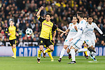 Borussia Dortmund Midfielder Shinji Kagawa (L) in action during the Europe Champions League 2017-18 match between Real Madrid and Borussia Dortmund at Santiago Bernabeu Stadium on 06 December 2017 in Madrid Spain. Photo by Diego Gonzalez / Power Sport Images