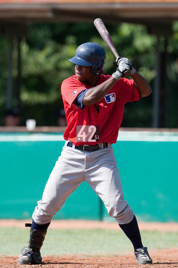 Baseball - MLB European Academy - Tirrenia (Italy) - 22/08/2009 - Zair Koeiman (Netherlands)