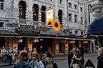 Noel Coward theatre with Calendar Girls, St Martin's Lane, WC2, London, England