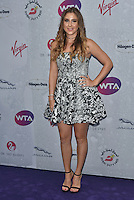 Belinda Bencic at WTA pre-Wimbledon Party at The Roof Gardens, Kensington on june 23rd 2016 in London, England.<br /> CAP/PL<br /> &copy;Phil Loftus/Capital Pictures /MediaPunch ***NORTH AND SOUTH AMERICAS ONLY***