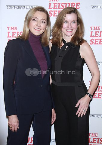 NEW YORK, NY January 11, 2018:Christine Jansing and Jodi Applegate attend Sony Pictures Classics  present screening of The Leisure Seeker  at AMC Loews Lincoln Square  in New York City.January  11, 2018. Credit:RW/MediaPunch