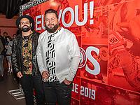 São Paulo (SP), 24/07/2019 - Show / VillaCountry - Os cantores Diego e Arnaldo, participam da 64ª festa do Peão de Barretos, no Villa Country, em São Paulo, nesta quarta-feira, 24. (Foto: Bruna Grassi / Brazil Photo Press)