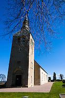 Sweden, Falköping. Gudhem Church.