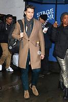 MAR 12 Matthew Morrison seen exiting at Good Morning America