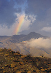 rainbow over San Jacinto Mountains